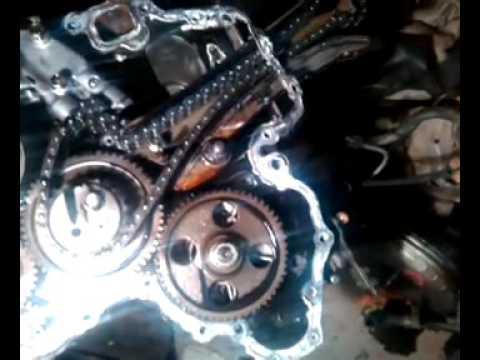 Выставление меток на шестернях 4м40 паджеро 2