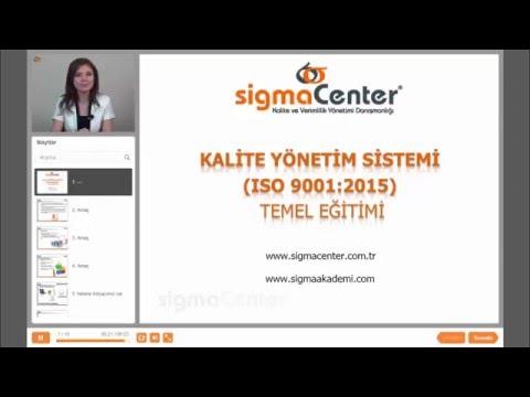ISO 9001:2015 KYS Temel Eğitimi Tanıtım Videosu