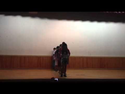 Kazakhstan students performing to Firework