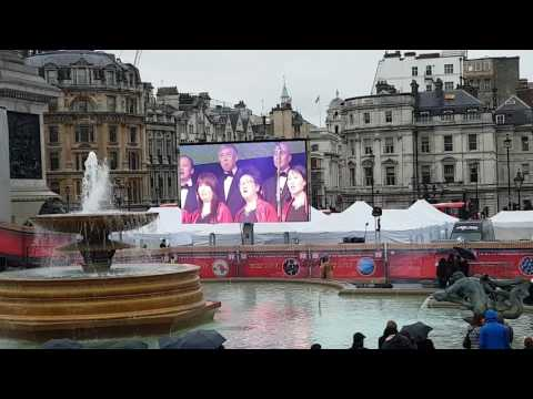 Chinese New Year 2017 celebrations in Trafalgar Square, London