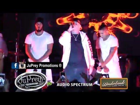Nicky Jam Ft. Cosculluela-Hoy Voy A Beber (Remix) @ Wonderland Ballroom-Boston