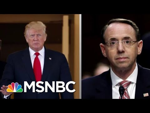 Lawrence On President Donald Trump And Rod Rosenstein\'s 'Strangest' Meeting   The Last Word   MSNBC