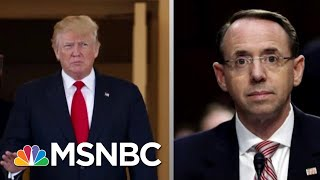 Lawrence On President Donald Trump And Rod Rosenstein's 'Strangest' Meeting | The Last Word | MSNBC