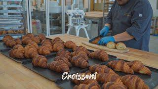 빵을 만들 수 있는 최적의 공간에서 크루와상을 만들면 …