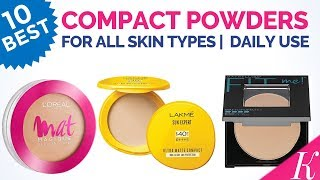 10 Best Compact Powders in India with Price | As per Skin Types|For Daily Use|All Seasons