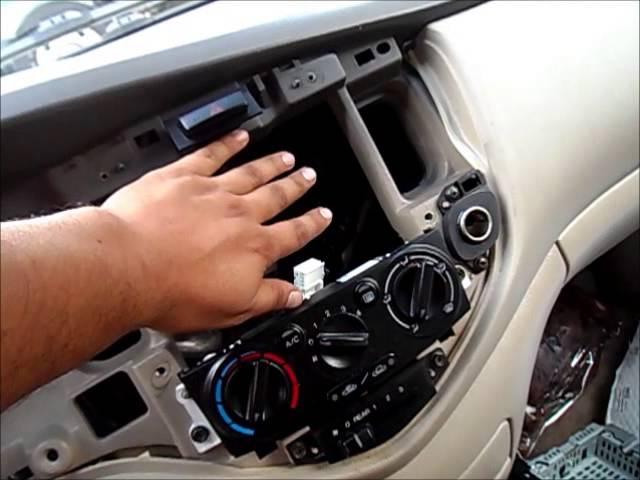 [SCHEMATICS_4US]  DIY: 99-06 MAZDA MPV RADIO REPLACEMENT - YouTube   Mazda Mpv Stereo Wiring      YouTube