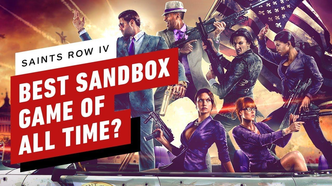 Ist Saint's Row IV das beste Sandkastenspiel aller Zeiten? + video