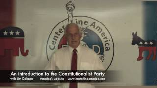 An introduction to the Constitutionalist Party