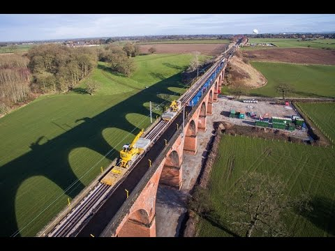 RAILWAY VIADUCT RENEWAL (full project in time lapse)