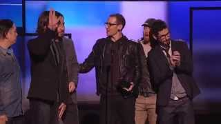 Linkin Park - American Music Awards 2012 (Getting Award) HD