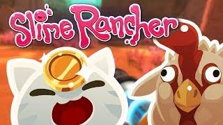 ВСТРЕЧА С РЕДКИМ МЯУРОВЫМ СЛИЗНЕМ! - Slime Rancher #4