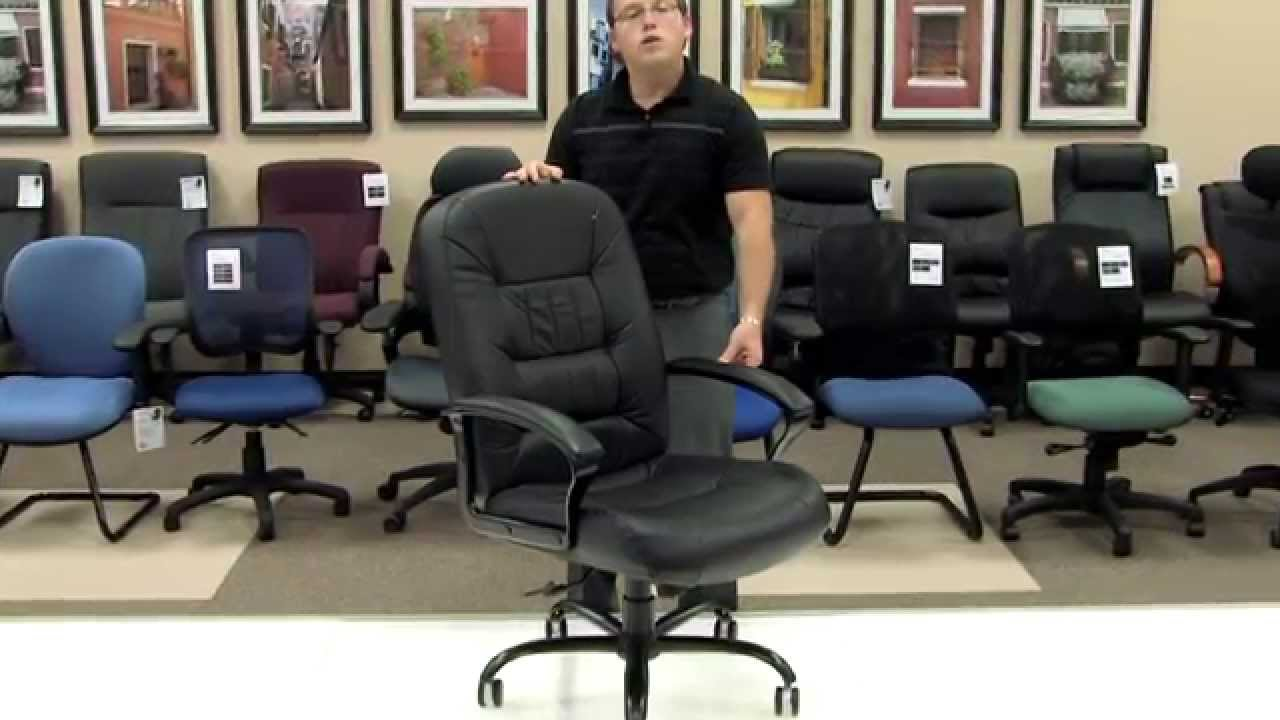 Tall Leather Office Chair 400 Lbs Capacity
