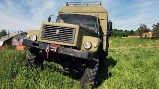 Дом на колесах для охоты и рыбалки. ГАЗ 33081 Садко