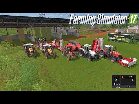 Pacas Heno y Paja para Vacas Cebú | DLC Platinum Expansión | Farming Simulator 17