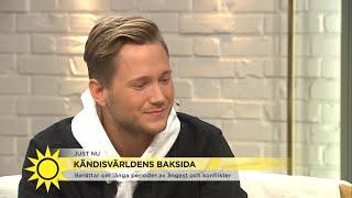 """Viktor Frisk: """"Jag ville somna in för alltid"""" - Nyhetsmorgon (TV4)"""