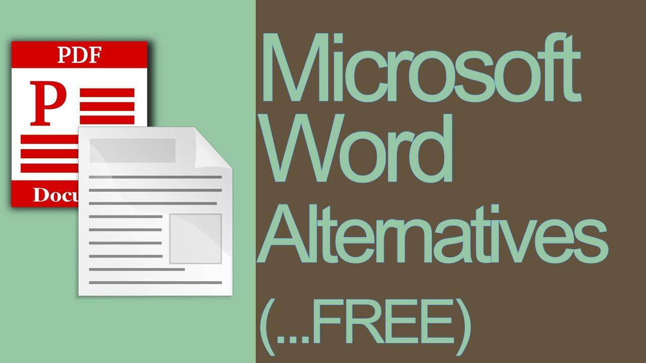 Microsoft Word Alternative