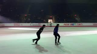 Tessa Virtue & Scott Moir - Exhibition Practice Part 9 - Long Time Running - Canadian Nationals 2018