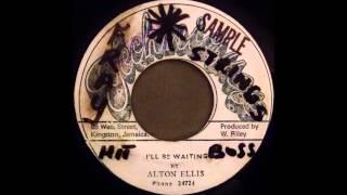 ALTON ELLIS  - I'll Be Waiting [1970]