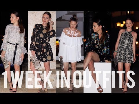 1 WEEK IN OUTFITS: VACATION EDITION + HOW TO TRAVEL WITH ONLY A CARRY-ON  | MELSOLDERA