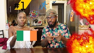 Dua Lipa - New Rules (Official Music Video)Reaction | #1's World Tour Ep.8 Ireland🇮🇪