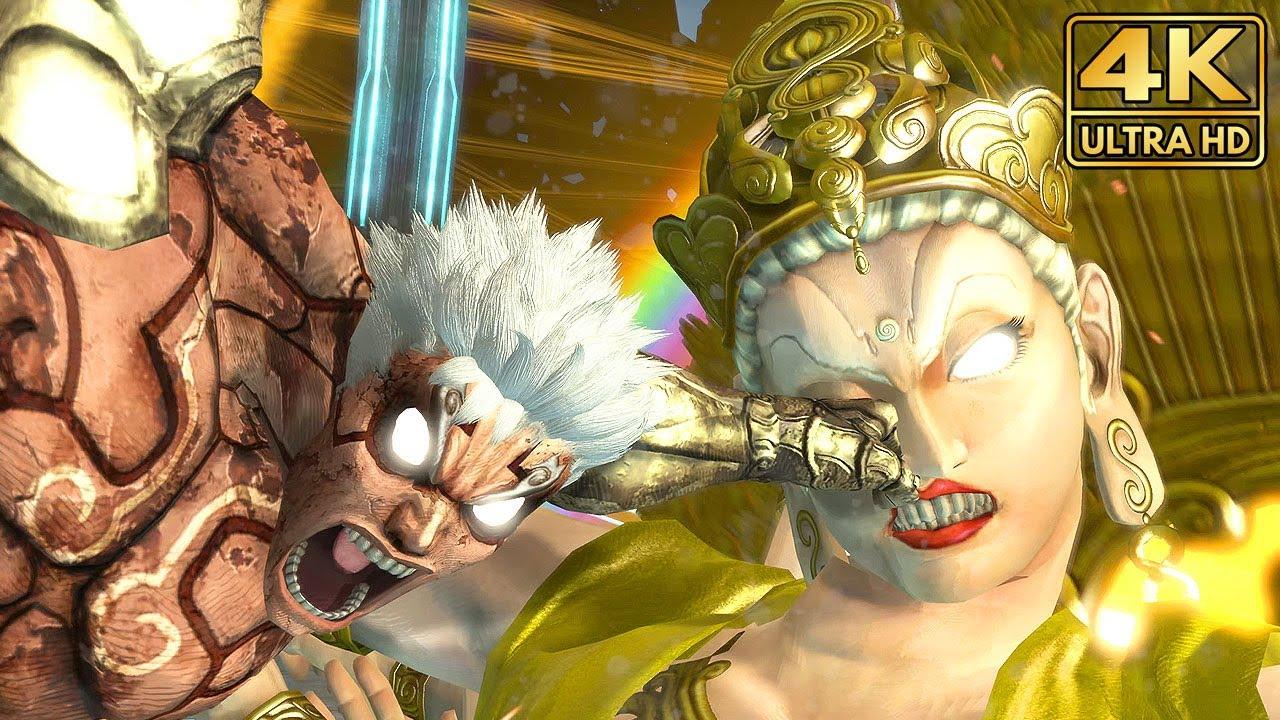 Asura's Wrath - Asura vs Chakravartin Boss Fight (4K Remaster) [RPCS3] @ ᵁᴴᴰ 60ᶠᵖˢ ✔