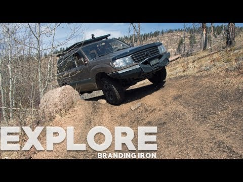 We explore Forest Service Road 202/Branding Iron