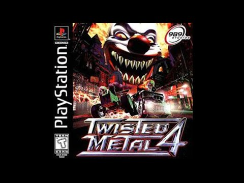 Twisted Metal 4 - All Character Endings! (PSX)