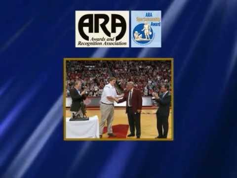 Barrett Jones wins 2011 ARA Sportsmanship Award