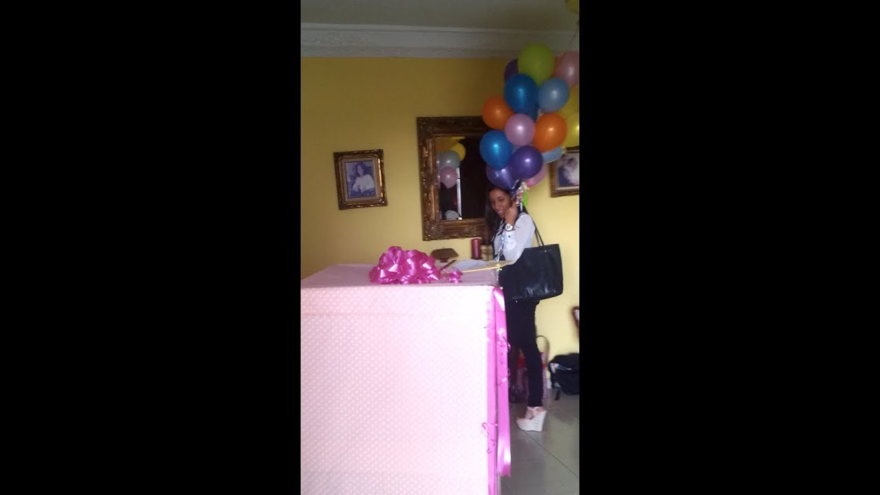 Regalo sorpresa para mi novia youtube - Como sorprender a mi pareja en su cumpleanos ...