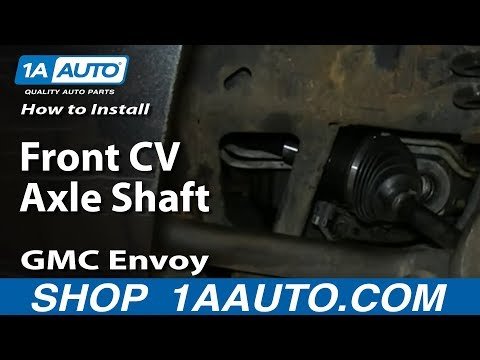 How to Replace CV Axle Shaft 02-06 GMC Envoy XL