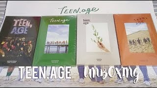 SEVENTEEN 2nd ALBUM《TEEN,AGE》FULL UNBOXING