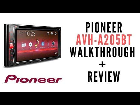Pioneer AVH-A205 Walkthrough + Review
