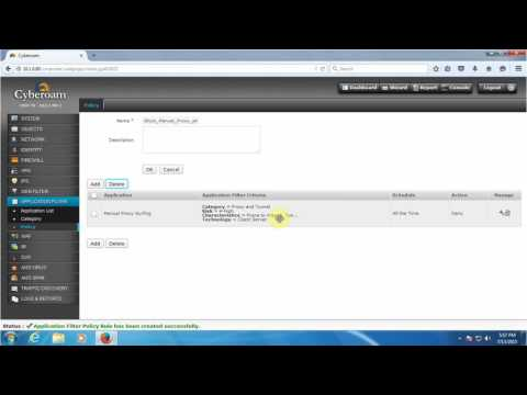How to Block any attempt by the user to configure or use