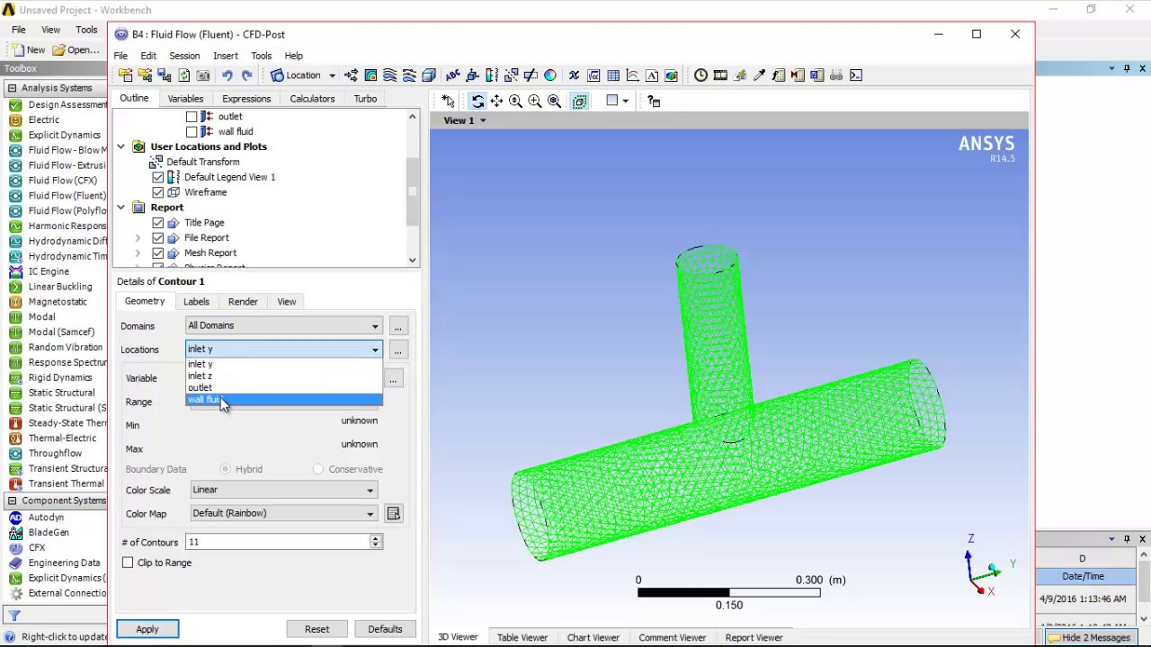 ANSYS Fluent(CFD) tutorial