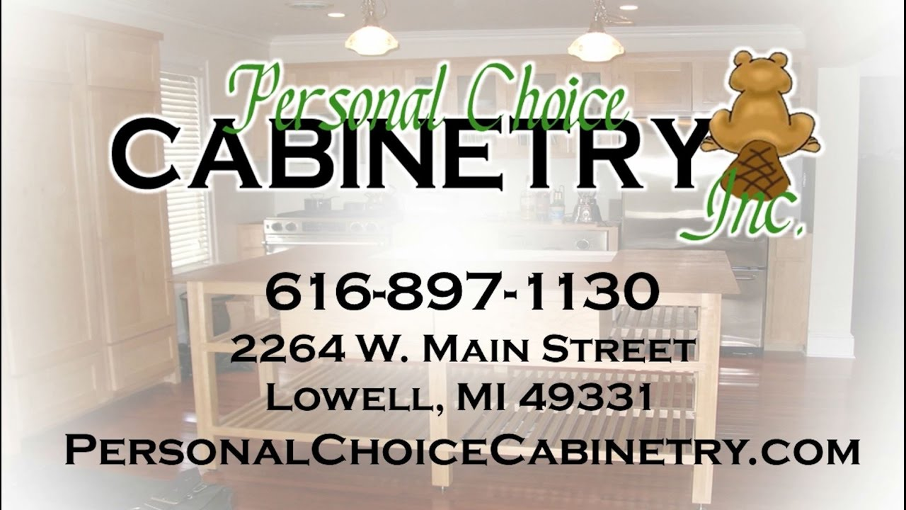 personal choice cabinetry inc lowell mi kitchen cabinets youtube