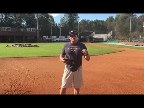"Infield ""Extreme Top Spin"" Footwork & Catch Groundball Drill"