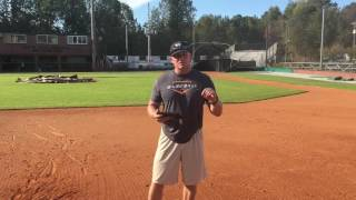 """Infield """"Extreme Top Spin"""" Footwork & Catch Groundball Drill"""