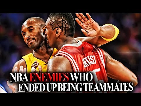 DJ QUEST - 6 Pairs Of NBA Players That HATED Each Other AND THEN Became TEAMMATES!