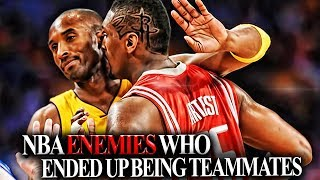 6 Pairs Of NBA Players That HATED Each Other AND THEN Became TEAMMATES! NBA BEEFS!!