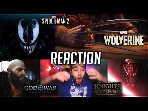 Spider-Man 2, Wolverine, Star Wars e God of War - REACTION