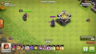 Clash of clans Max Pekka battle