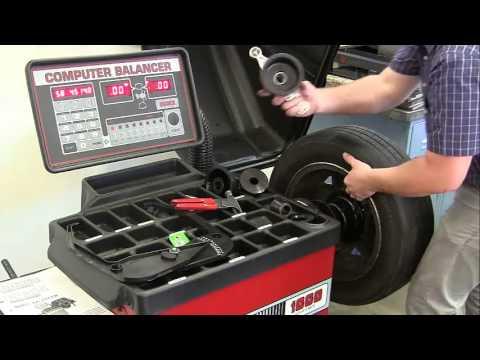 Coats Direct Drive 1000 Wheel Balancer How To Balance