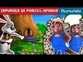 Download IEPURELE ȘI PORCUL SPINOS | Povesti pentru copii | Romanian Fairy Tales