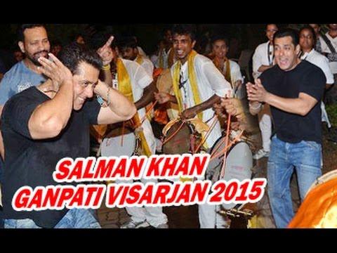 Salman Khan's Madly Dance at Ganpati...