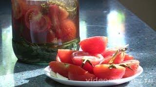 Солёные помидоры - Рецепт Бабушки Эммы(Рецепт - Солёные помидоры от http://videoculinary.ru Бабушка Эмма делится Видео-рецептом Солёных помидоров - воспользу..., 2011-07-02T10:57:22.000Z)