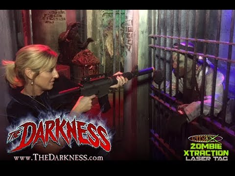 Zombie Laser Tag Live Action Experience The Darkness Youtube