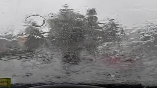 960fps Rainstorm on Windshield - Samsung Galaxy S9 Plus