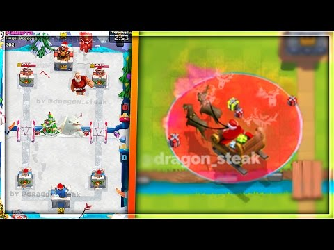 "NEW ""CHRISTMAS ARENA"" & ""SANTA SPELL"" UPDATE IDEAS for Clash Royale!"