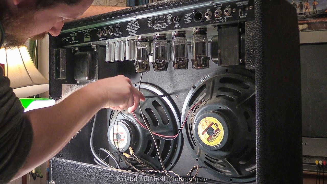How To Fender Twin Reverb Speaker Replacement