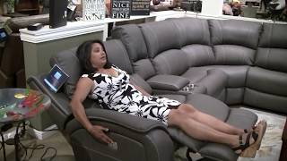 Marina Power Sectional From Flexsteel - Lainey's Furniture For Living
